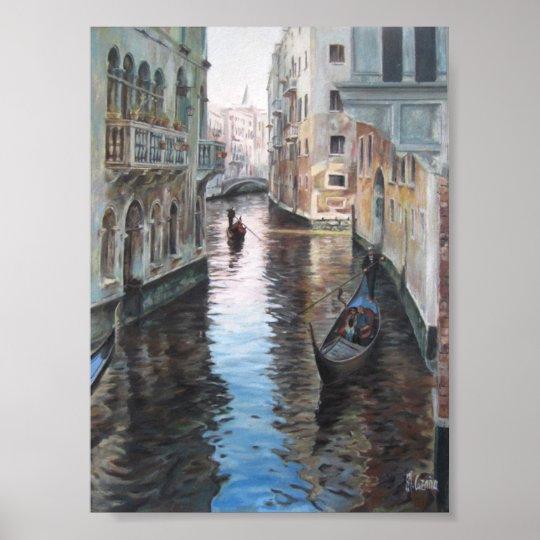 Póster Urban cityscape of Venise