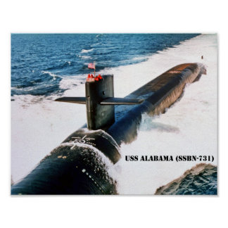 PÓSTER USS ALABAMA