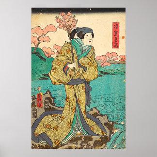 Póster Utagawa Kunisada