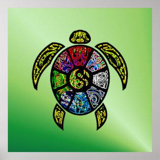 Póster Vagos-Gua de la tortuga
