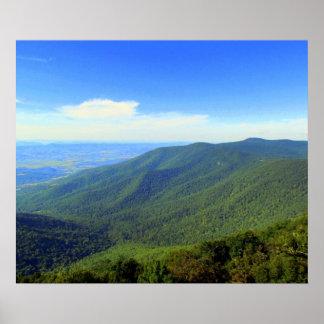 Póster Valle verde de Virginia
