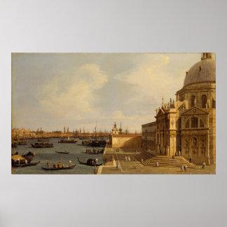 Póster Venecia: Saludo del della de Santa María