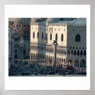 Póster Venecia San Marcos