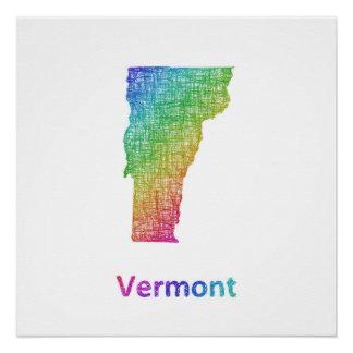 Póster Vermont