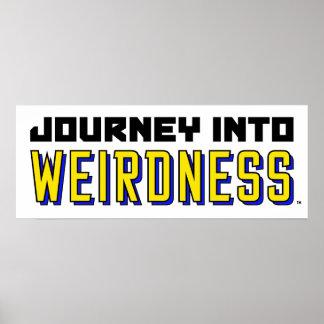 Póster Viaje en el Mini-Poster del Weirdness