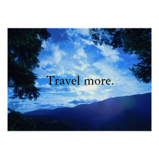 Póster Viaje más