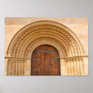 Póster Vieja puerta