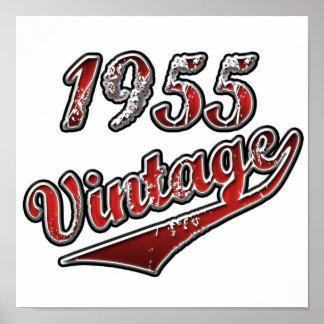 Póster Vintage 1955