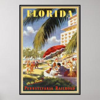 Póster Vintage la Florida, los E.E.U.U. -