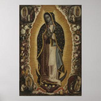 Póster Virgen de Guadalupe