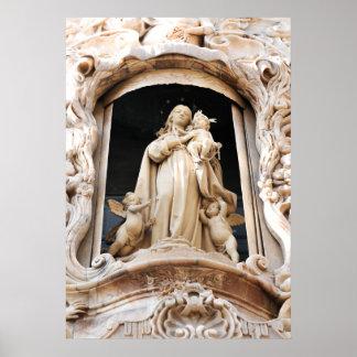 Póster Virgen María