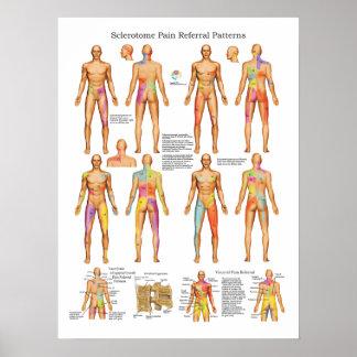Poster visceral de la remisión del dolor de póster