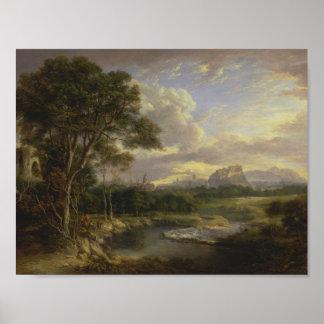 Póster Vista de la ciudad de Edimburgo de Alexander