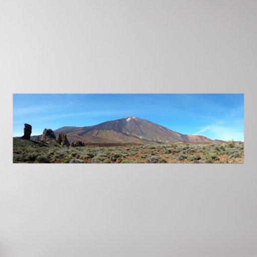 Póster Volcán del Teide - Tenerife - Canarias 1