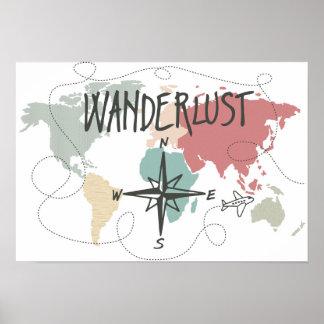 Póster Wanderlust