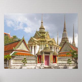 Póster Wat Pho, Bangkok, Tailandia