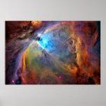 Poster X LG 60x40 de la galaxia del espacio de la