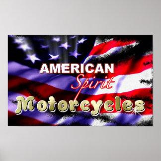 Posters americanos de las motocicletas del alcohol