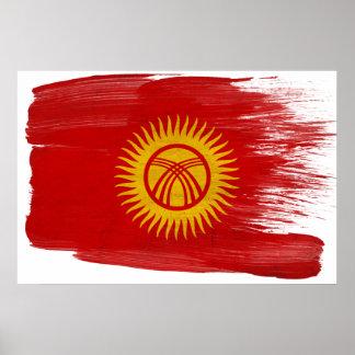 Posters de la bandera de Kirguistán