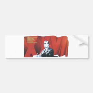 Posters de la propaganda de Unión Soviética de la  Pegatina Para Coche