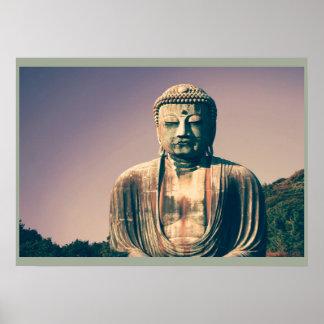 Posters de señor Buda del vintage