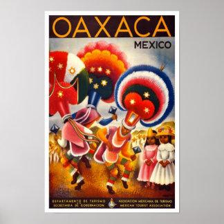 Posters mexicanos de los anuncios del viaje (arte