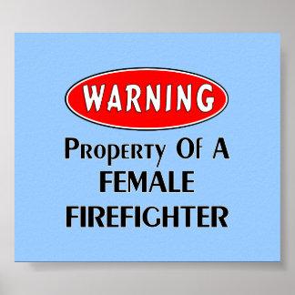 Posters y arte del bombero