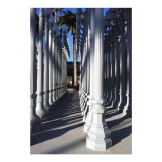 Postes 2 de la lámpara impresion fotografica