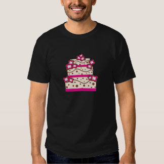 Postre de la torta camiseta