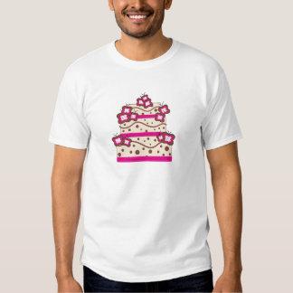 Postre de la torta camisetas