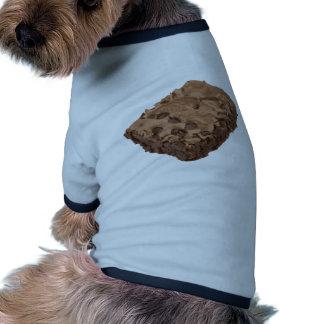 Postre Scrumptious del dulce del brownie Camiseta Con Mangas Para Perro