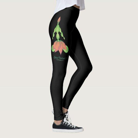 Postura de Lotus (polainas) Leggings