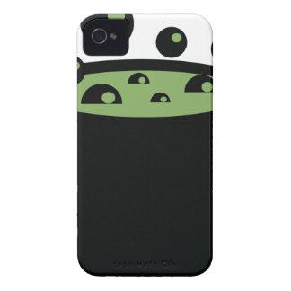 Pote de cocinar negro y verde carcasa para iPhone 4 de Case-Mate