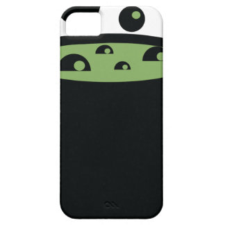 Pote de cocinar negro y verde funda para iPhone SE/5/5s