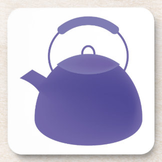 Pote del té posavasos de bebida