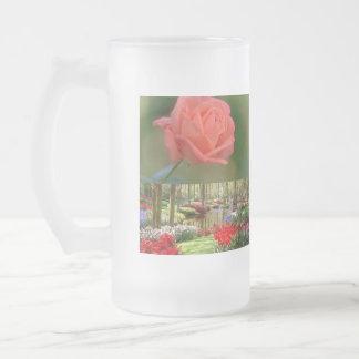 Potes, tazas, potes de flores, GIF del viaje de Taza Cristal Mate
