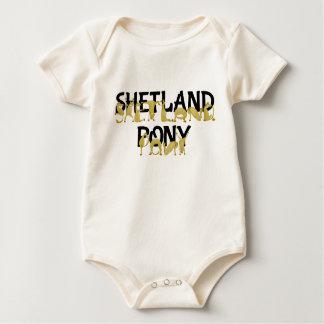 Potro de Shetland ágil Body Para Bebé