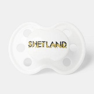 Potro de Shetland del dibujo animado Chupetes Para Bebes