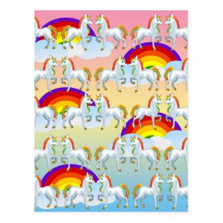 Potro del arco iris postal