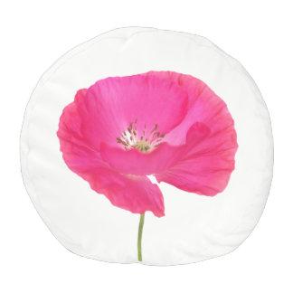 Pouf amapola rosada