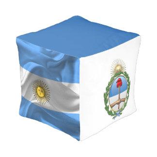 Pouf Escudo de armas de la Argentina