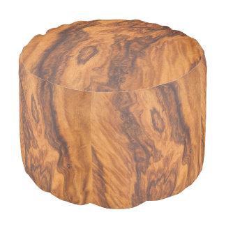 Pouf Falsa madera de Brown