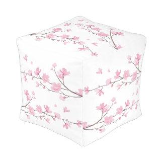 Pouf Flor de cerezo - fondo transparente