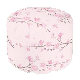 Pouf Flor de cerezo - rosa