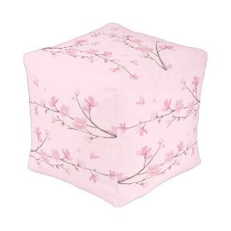 Pouf Flor de cerezo - transparente