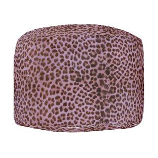 Pouf Leopardo de la lavanda