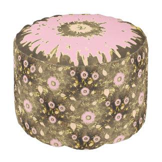 Pouf Personalizado rosado de encargo de Brown