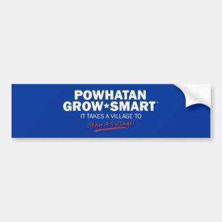 Powhatan crece elegante pegatina para coche