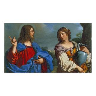 Pozo del EL del en de Samaritana del la de Jesús y Tarjetas De Visita