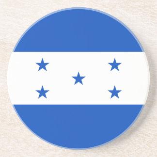 Práctico de costa de la bandera de Honduras Posavasos Manualidades